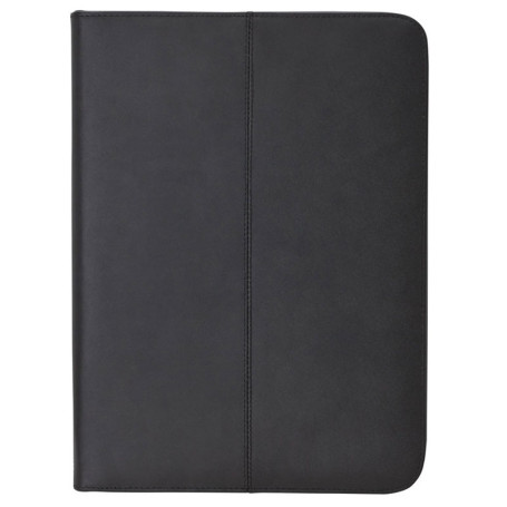 Customized Letter Size Zippered Padfolio - Open - Unprinted