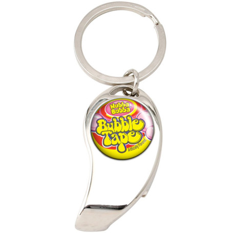 Logo Imprinted Bottle Opener Key Chain
