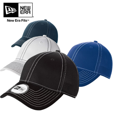 New Era® Stretch Mesh Contrast Stitch Cap