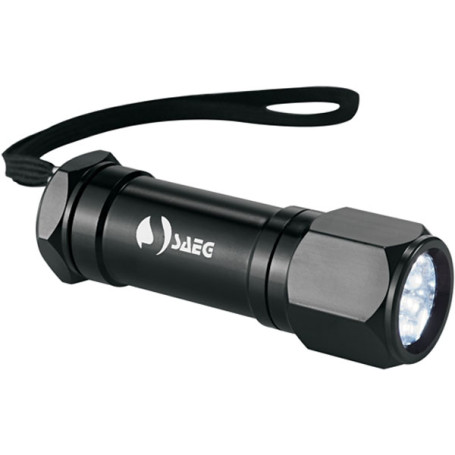 Personalized Garrity 8 LED Aluminum Superbright Flashlight