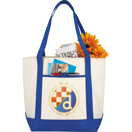 Personalized Lighthouse Boat Tote