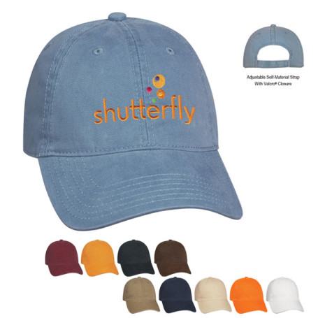Personalized Washed Cotton Cap