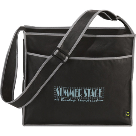Polypro Non-Woven Deluxe Box Convention Tote
