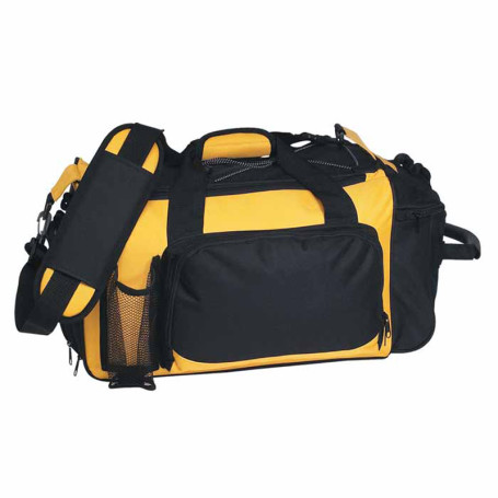 Printed Deluxe Sports Duffel Bag