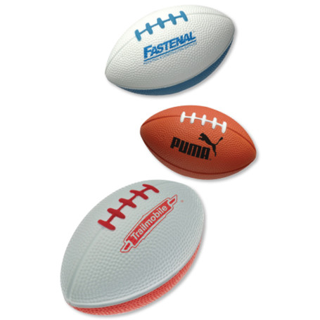 "Promotional 5"" Football Stress Balls"