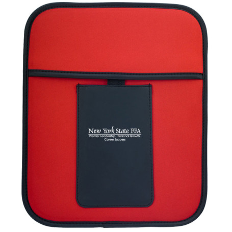 Promotional Tablet Pouch with Phone Holder