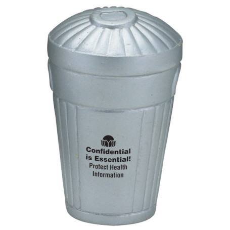 Promotional Trash Can Stress Reliever