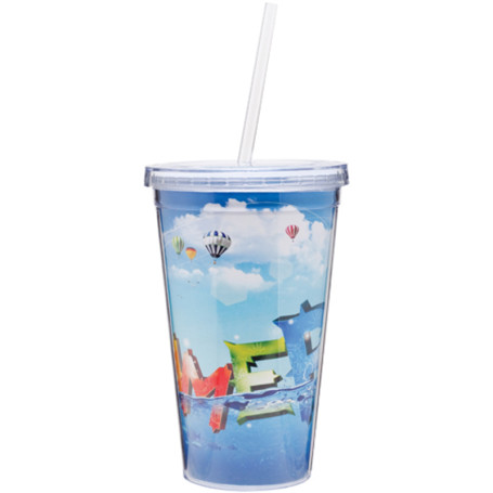 16 oz Spirit Double Wall Acrylic Tumbler