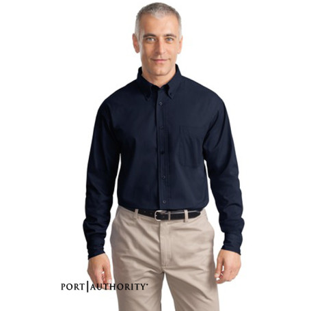 Port Authority Long Sleeve Cotton Twill Shirt