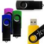 4GB Black Swivel USB Drive