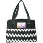 Customizable In Print Ikat Cotton Shopper Bag