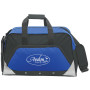 Custom Sports Duffel Bag - blue printed