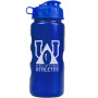 Promotional 22 oz. Metalike Bottle with Flip Lid