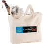 Promotional Signature Cotton Zippered Shopper Tote