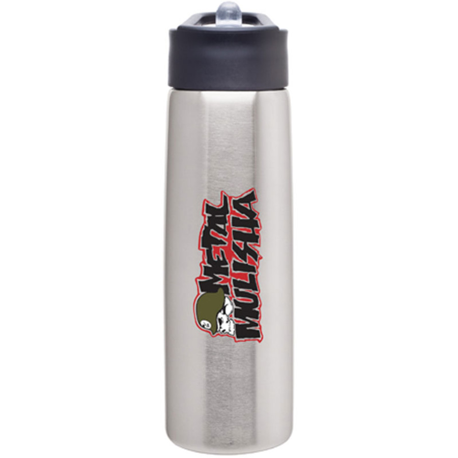 24 oz. Stainless Water Bottle w/ Flip Straw - Group