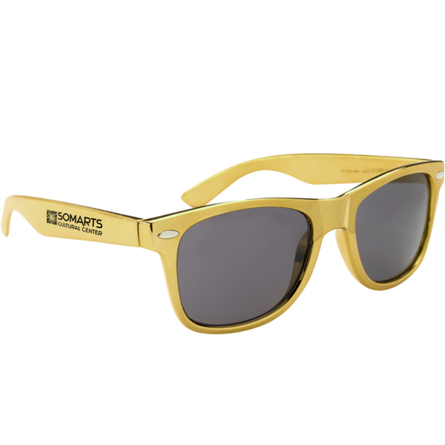 Printed Metallic Malibu Sunglasses