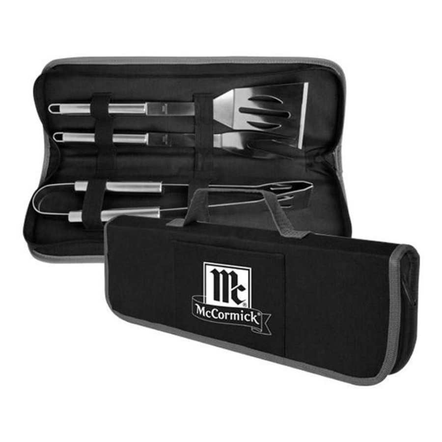 Imprinted 3-Piece Grilling Set