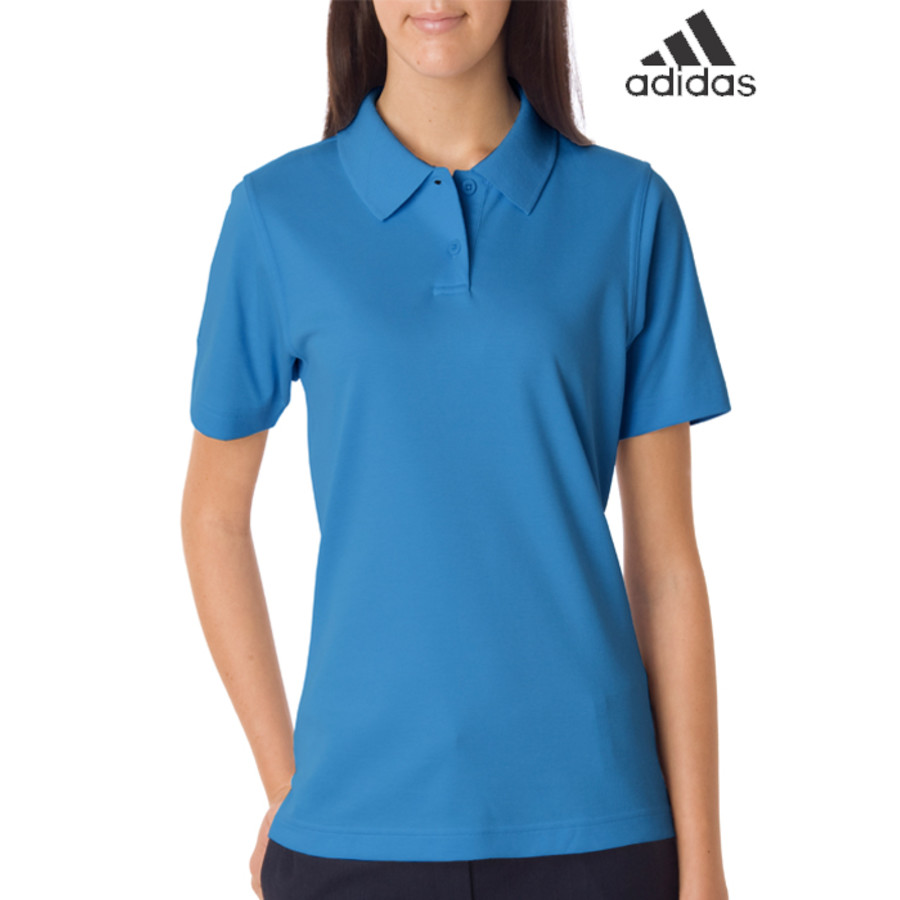 Adidas Ladies ClimaLite Pique Polo