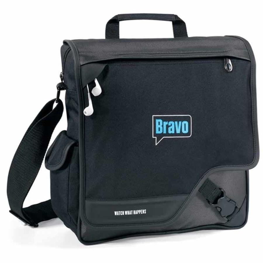 Custom Satellite Vertical Messenger Bag