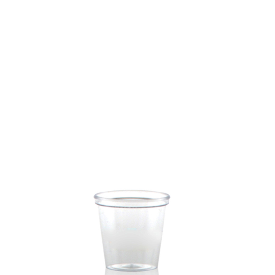 1 oz. Clear Plastic Shot Cups