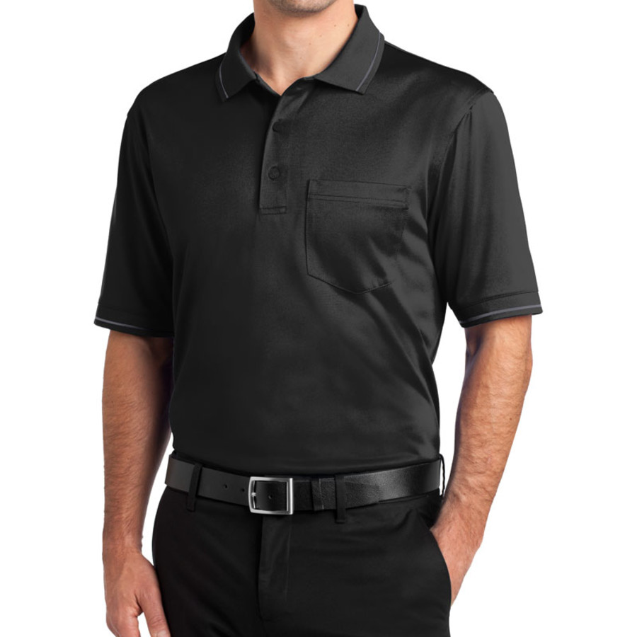 CornerStone Select Snag-Proof Tipped Pocket Polo (Apparel)
