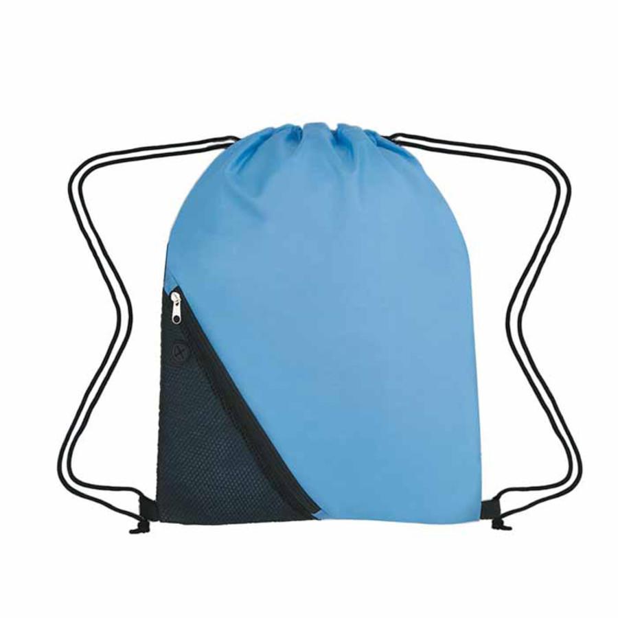 Custom Logo Sports Pack With Outside Mesh Pocket