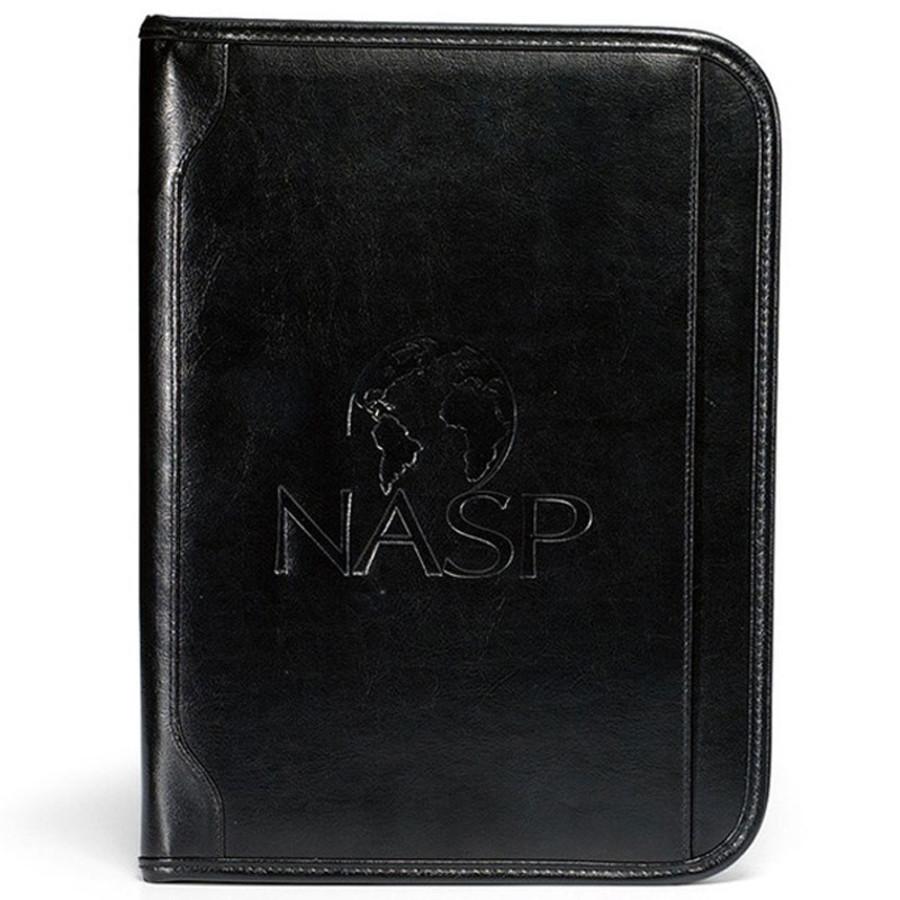 Custom Logo Vintage Leather E-Padfolio