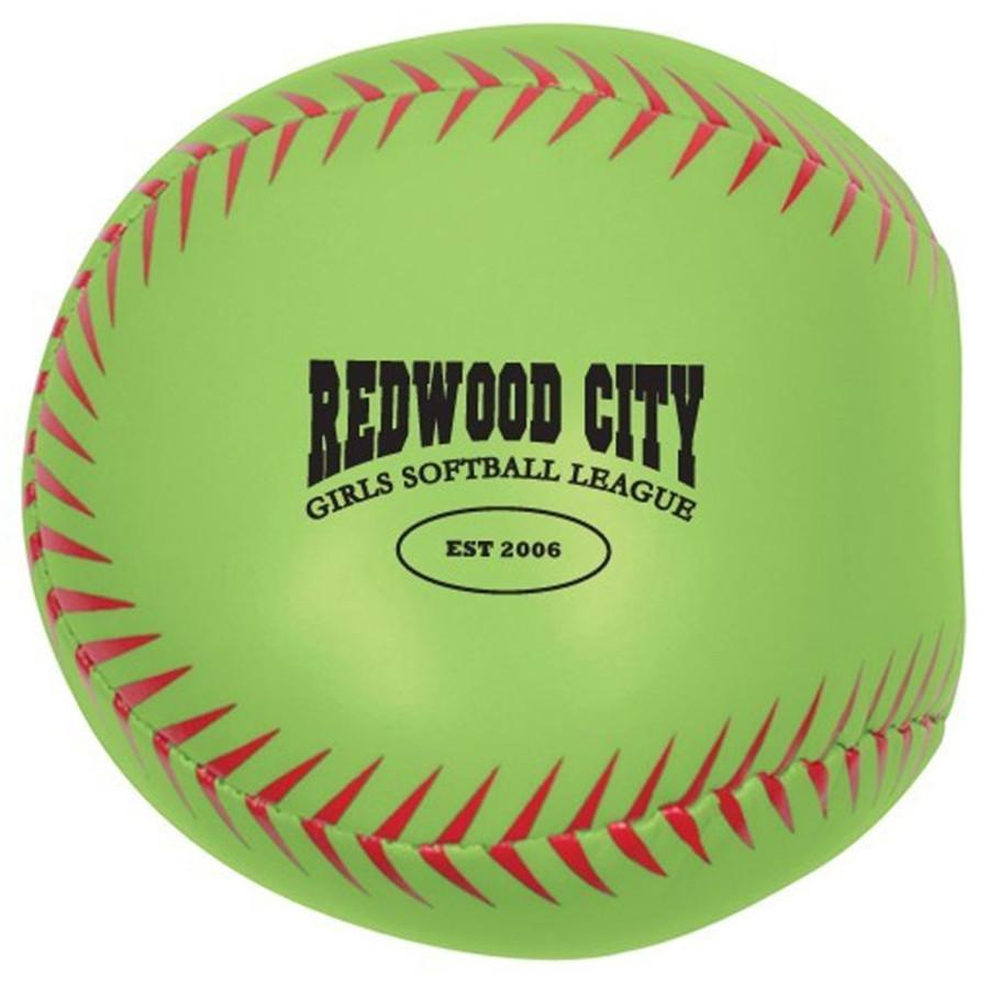 Custom Softball Pillow Ball