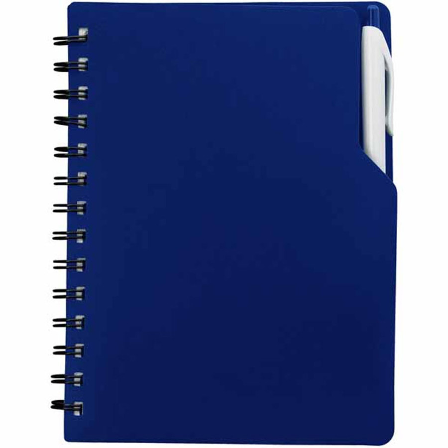 Custom Spiral Notebook With Pen