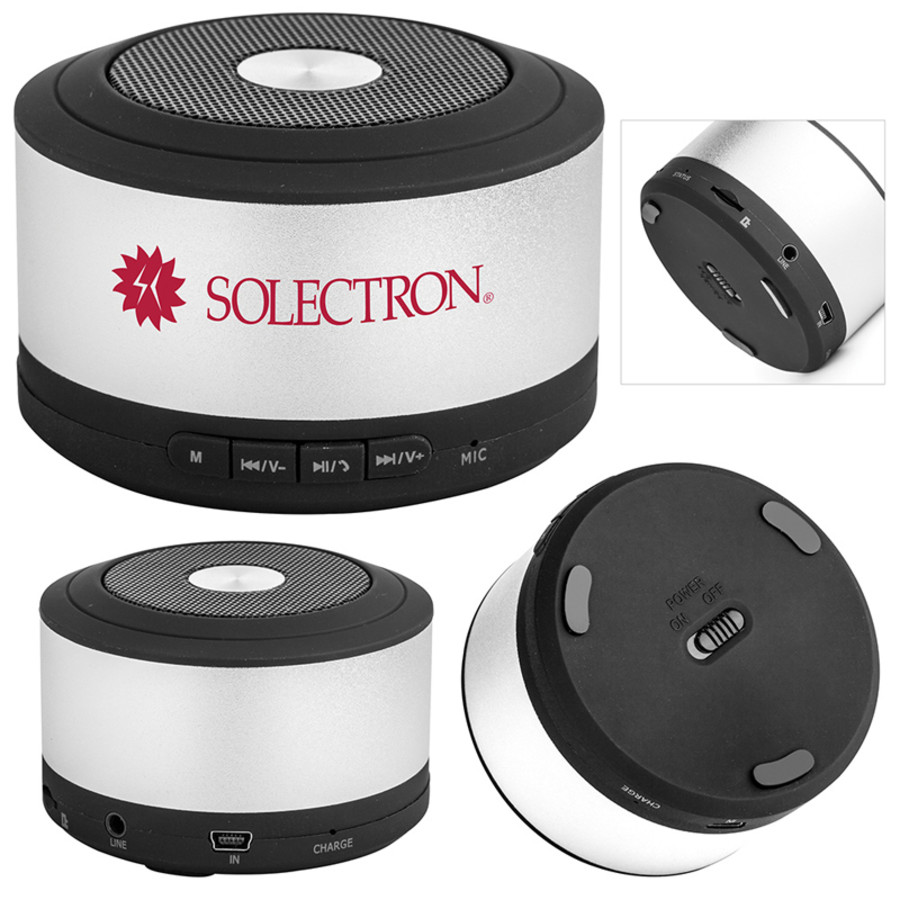 Customizable Cyclone Bluetooth Speaker