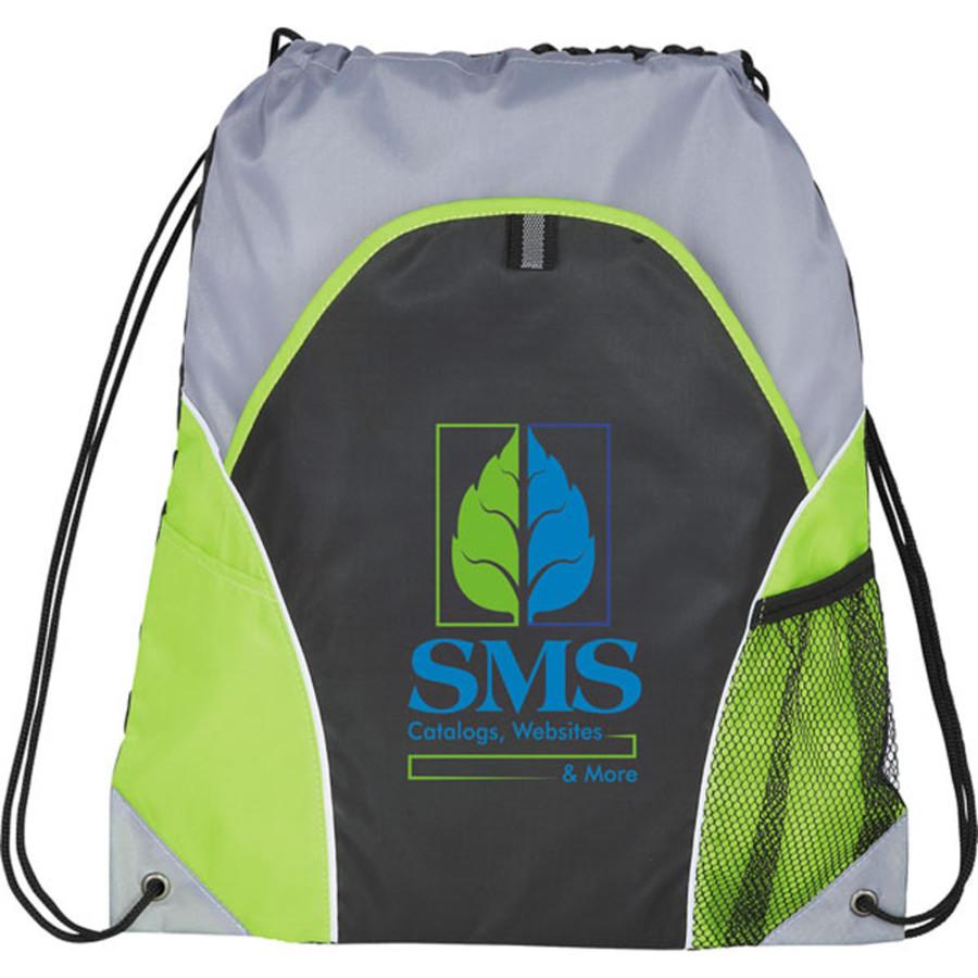 Customizable Marathon Drawstring Cinch Backpack