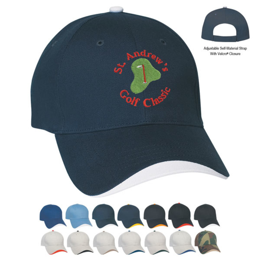 Customizable Wave Sandwich Cap