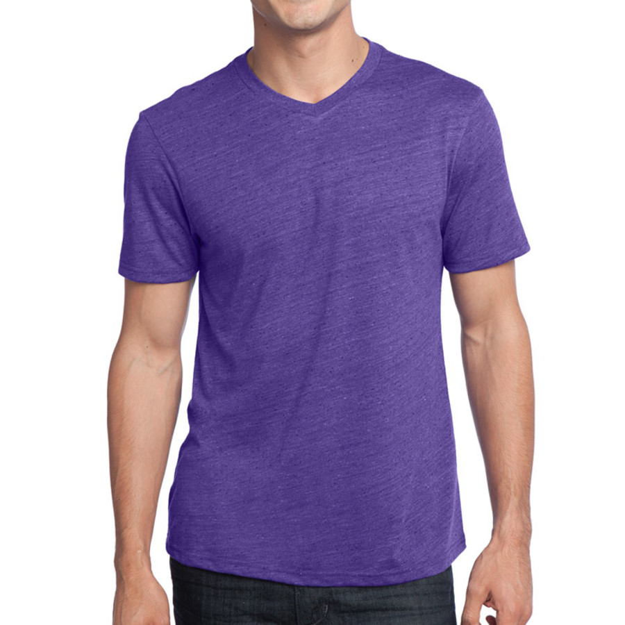 District - Young Mens Textured Notch Crew Tee