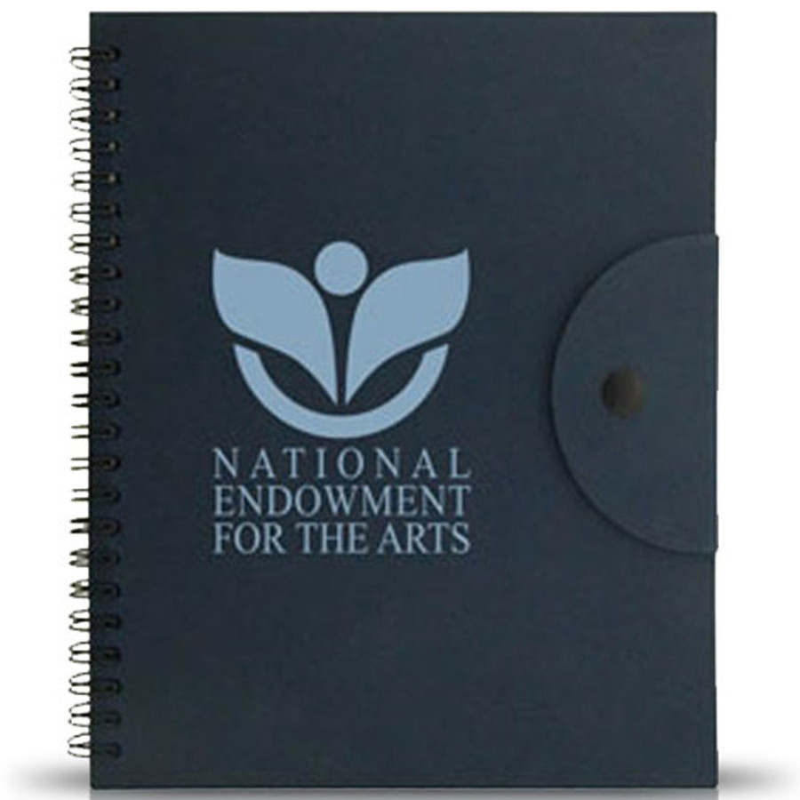 Eco-Friendly Notebook with Pen and Sticky Notes