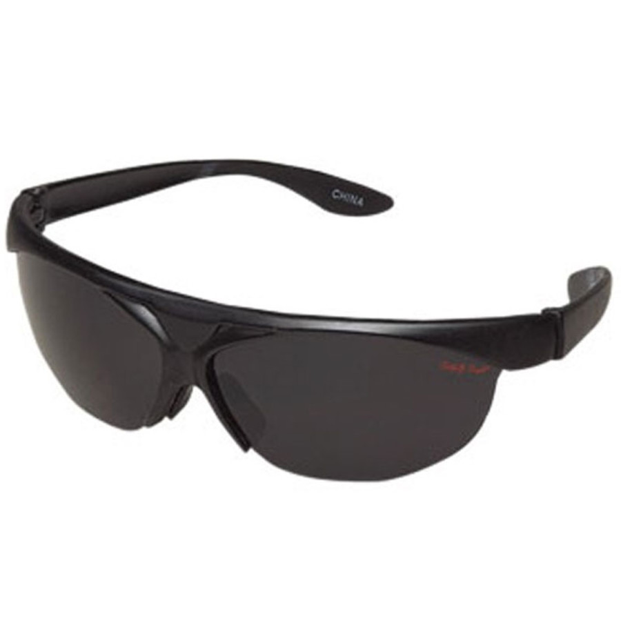Imprint Sunglasses Wrap Style with Dark Lenses