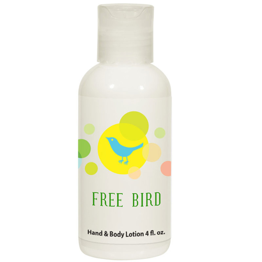 Imprinted 4 Oz. Hand and Body Lotion Bottle