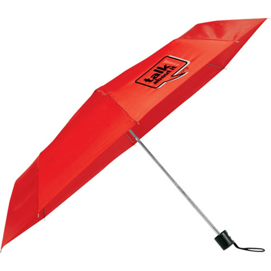 "Imprinted 41"" Folding Umbrella"