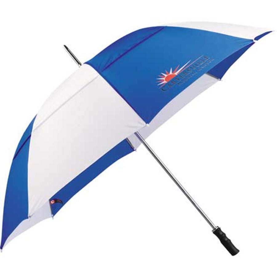 "Imprinted 60"" Vented Golf Umbrella"