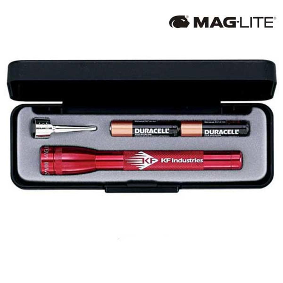 Engraved Mag-Lite M3A Flashlight