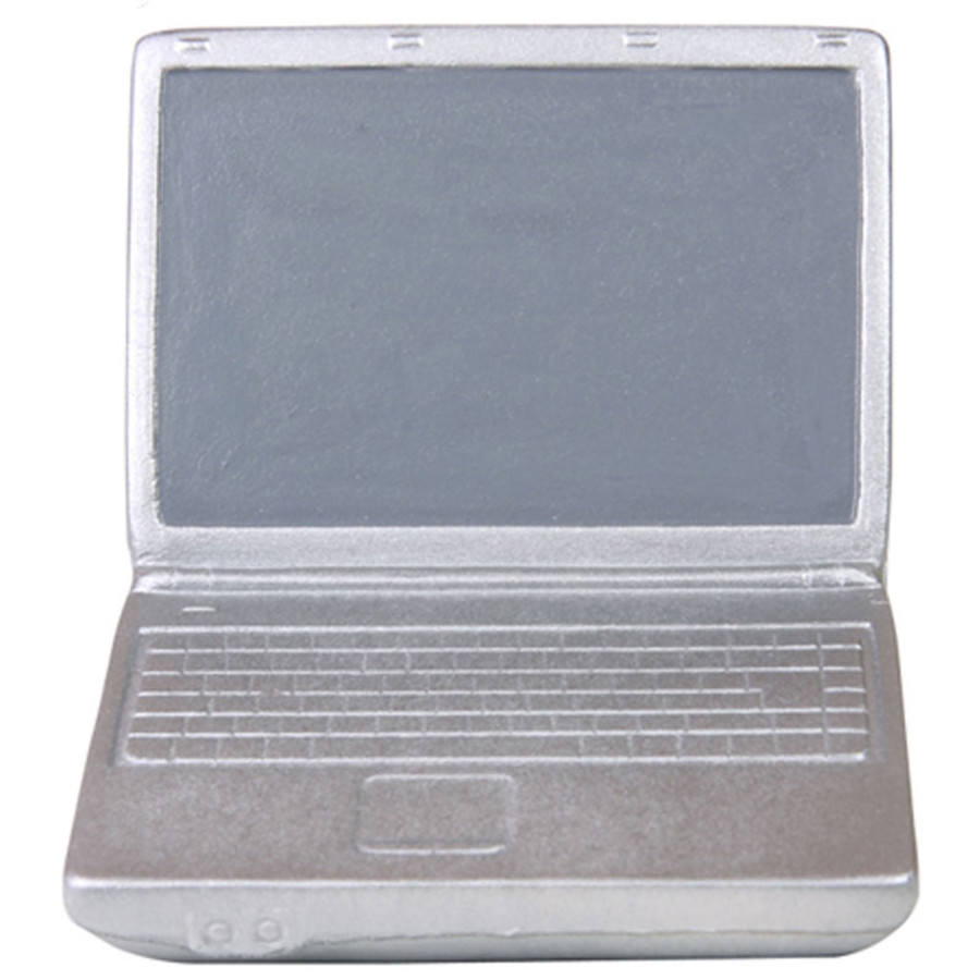 Imprinted Sleek Laptop Stress Reliever