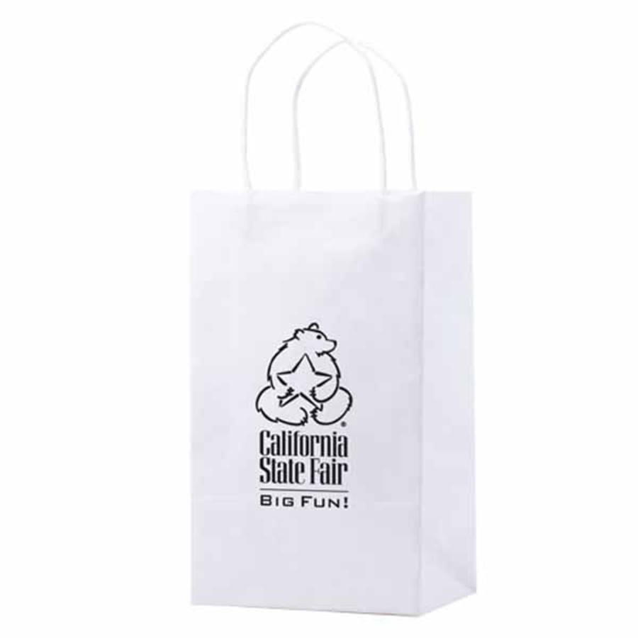 Logo-White-Kraft-shopping-bags