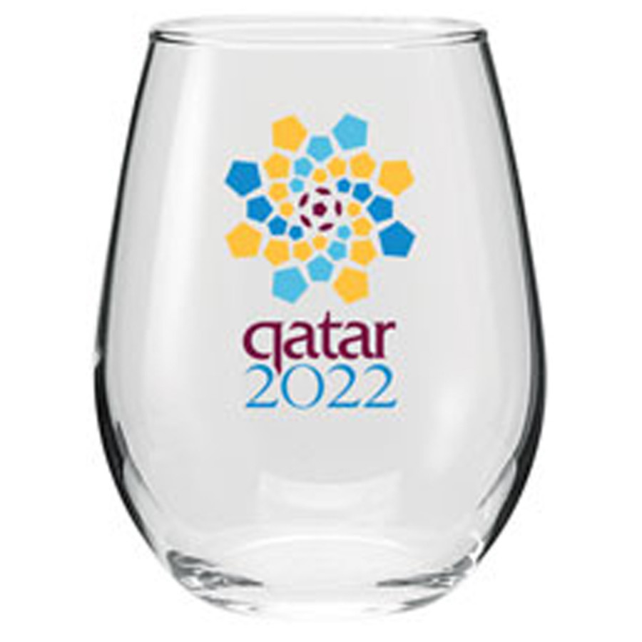 Monogrammed 11.75 oz. Vina Stemless Wine Taster