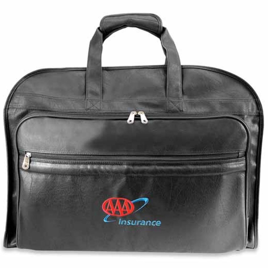 Monogrammed Valise Garment Bag