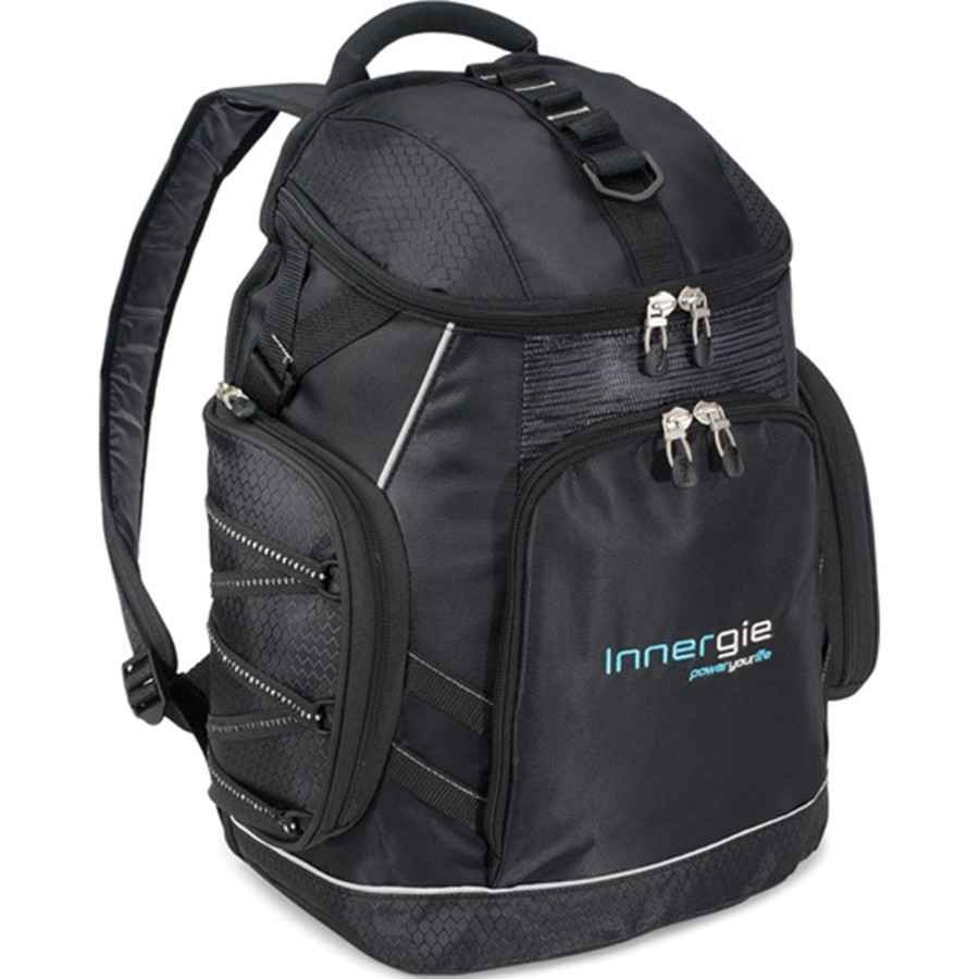 Monogrammed Vertex Trek Computer Backpack