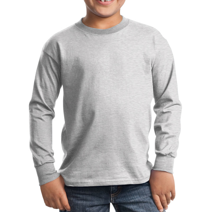 Port & Company - Youth Long Sleeve Essential T-Shirt (Apparel)