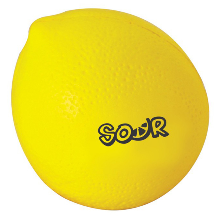Personalized Lemon Stress Reliever