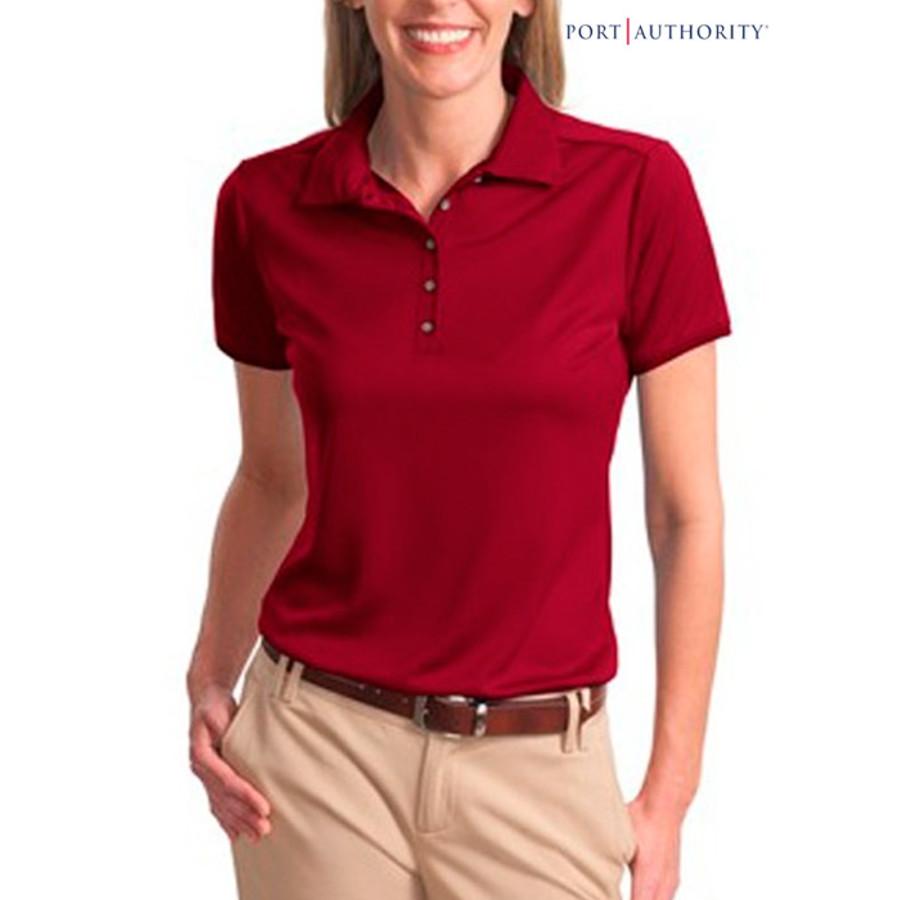 Port Authority Ladies Bamboo Jacquard Shirt