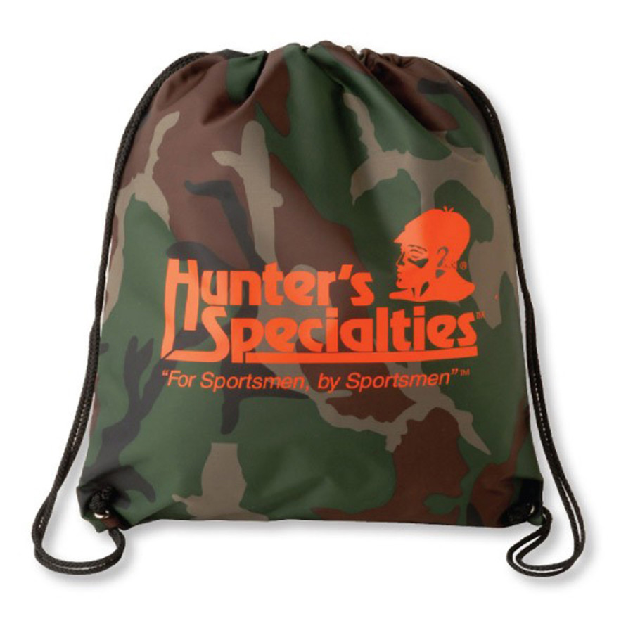 Printed Camouflage Drawstring Backsack