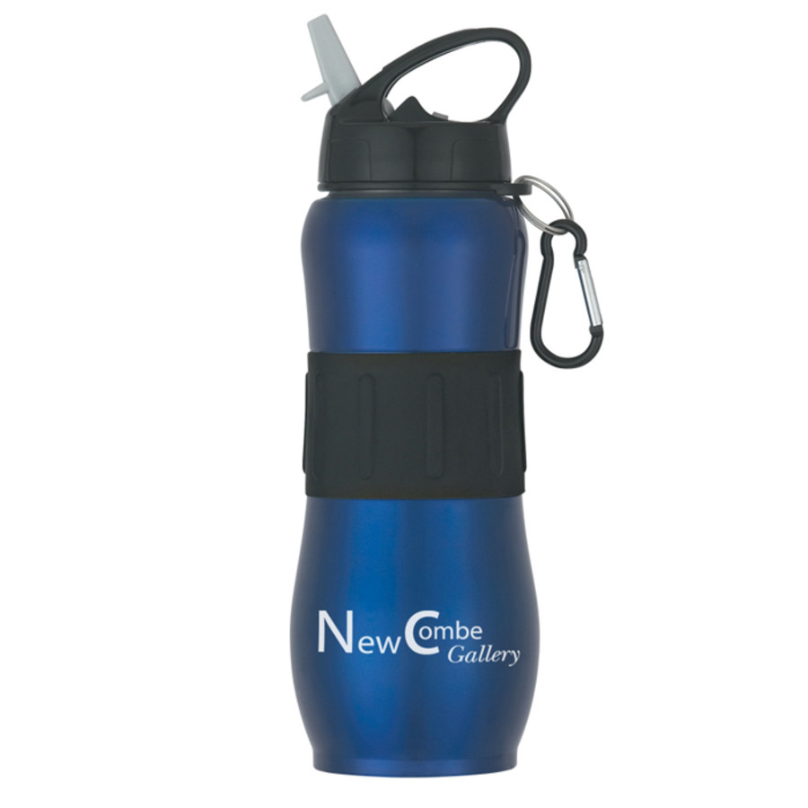 Promo 28 Oz. Stainless Steel Sport Grip Bottle