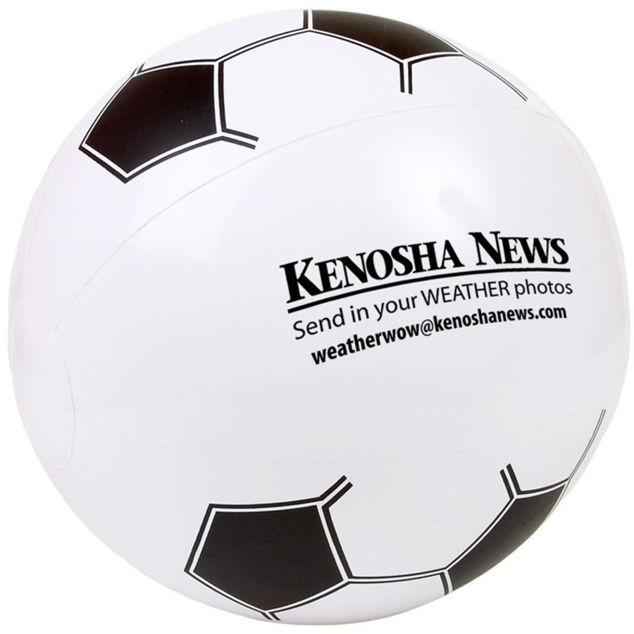 "Promotional 14"" Soccer Beach Ball"